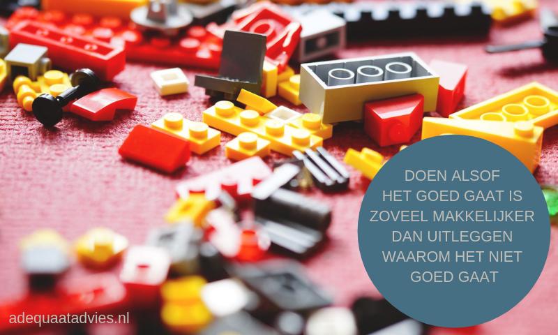 Legoblokken - de basis op orde zorgt voor een sterke fundering
