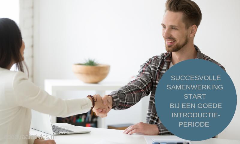 Succesvol samenwerken start bij een goede introductie